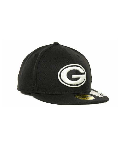 1c5c1dbe3cc New Era Green Bay Packers 59FIFTY Cap - Sports Fan Shop By Lids ...