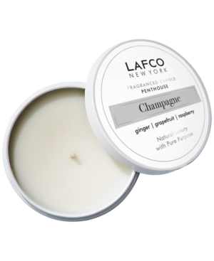 Champagne Penthouse Travel Candle