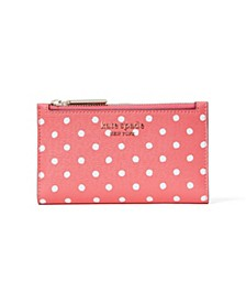 Spencer Dots Small Slim Bifold Wallet