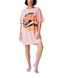 Women's 90s Nightie T-shirt
