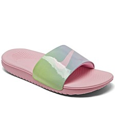 Little Girls Kawa SE2 Tie-Dye Slide Sandals from Finish Line