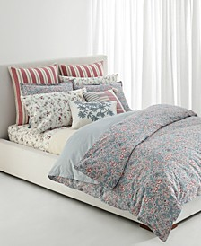Maddie 3-Pc. Floral Full/Queen Comforter Set