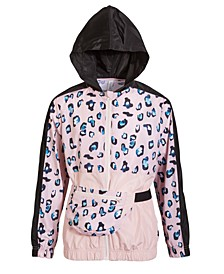 Big Girls Hooded Windbreaker and Hip Pack Set, Created for Macy's
