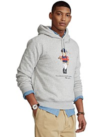 Men's Polo Bear Fleece Hoodie