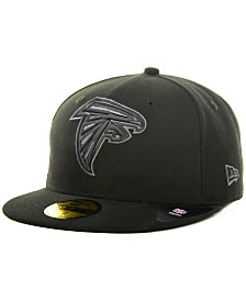 New Era Atlanta Falcons Black Gray 59FIFTY Cap