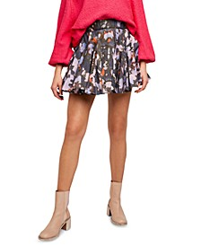 Sway My Way Cotton Pull-On Skirt