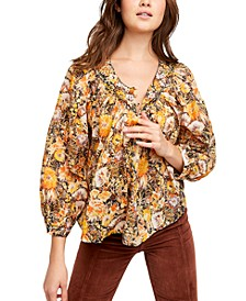 Cool Meadow Printed Cotton Top