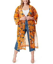 Trendy Plus Size Blakely Duster