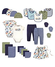 Baby Girls and Boys Organic Cotton Layette Set, 25 Pack