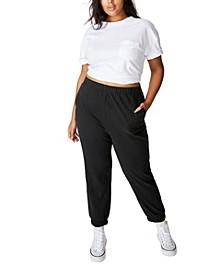 Women's Trendy Plus High Rise Sweatpants