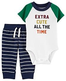 Baby Boy Extra Cute Bodysuit Pant Set