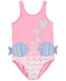 Baby Girls Fish Swimsuit