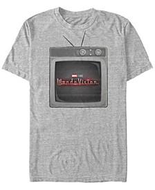 Men's WandaVision Wanda TV Short Sleeve T-shirt