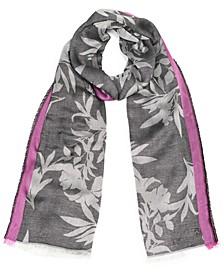 Modern Floral Pashmina Wrap