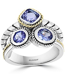 EFFY® Tanzanite Statement Ring (1-3/4 ct. t.w.) in Sterling Silver & 18k Gold-Plate