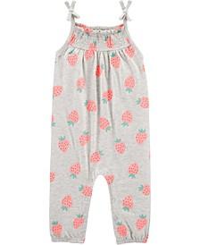 Baby Girls Strawberry Jumpsuit