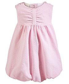 Baby Girls Seersucker Bubble Dress, Created for Macy's