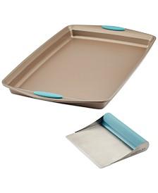 Baking Sheet & Pastry Knife/Bench Scraper Set