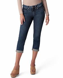 Trendy Plus Size Suki Mid-Rise Capri Jeans