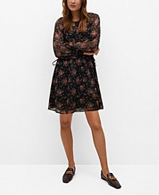 Women's Flowy Printed Dress