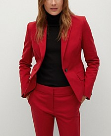 Women's Structured Suit Blazer