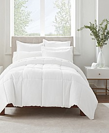 Simply Clean Full and Queen Comforter Set, 3 Piece