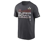 Tampa Bay Buccaneers Men's Super Bowl LV Champ Locker Room T-Shirt