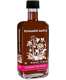 Strawberry Rose Infused Maple Syrup, 250 ml