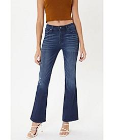 Women's Mid Rise Boot Cut Jeans