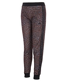 Big Girls All Over Print Tricot Jogger Pants