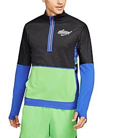 Men's Dri-FIT Element Wild Run Half-Zip Graphic Running Shirt