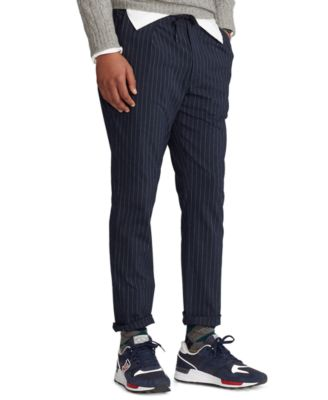폴로 랄프로렌 Polo Ralph Lauren Mens Slim Tapered Polo Prepster Pants,Navy