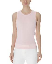 Sleeveless Crewneck Top