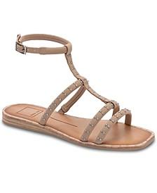 Kole Studded Gladiator Sandals
