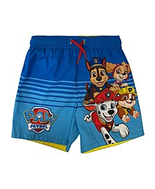 Toddler Boys Paw Patrol Swim Trunk