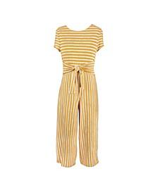 Big Girls Stripe Jumpsuit
