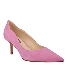 Women's Abaline Pointed Toe Low Pumps
