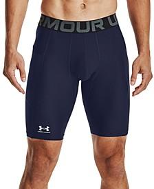 "Men's Big & Tall HeatGear Armour Moisture-Wicking 9"" Compression Shorts"