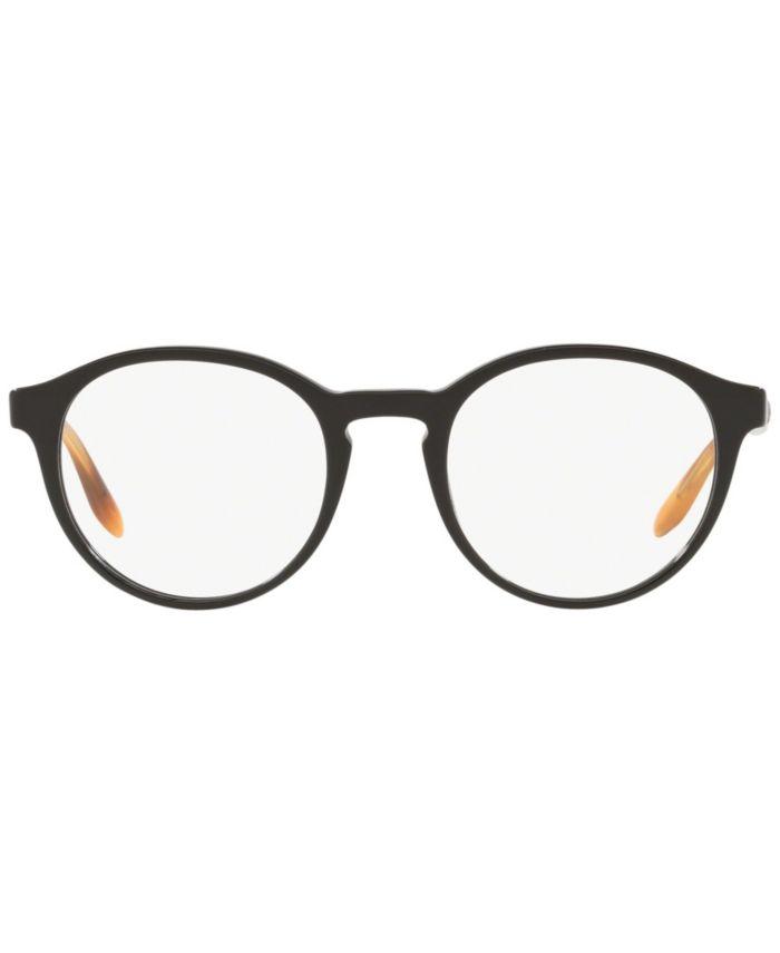 Giorgio Armani AR7162 Men's Phantos Eyeglasses & Reviews - Home - Macy's