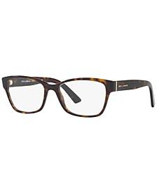 DG3274 Women's Rectangle Eyeglasses