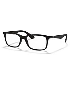 RX7047 Unisex Square Eyeglasses