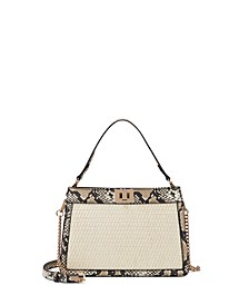 Pixiee Straw Satchel, Created for Macy's