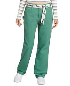 Juniors' Belted Cargo Pants