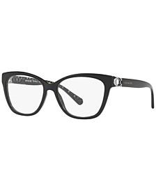 HC6120 Women's Square Eyeglasses