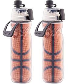 Mist N' Sip® 20-Oz. Water Bottle, Set of 2