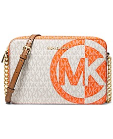 Jet Set Signature Colorblocked Crossbody