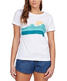 Juniors' Ride The Wave T-Shirt