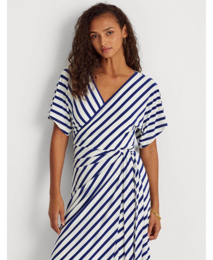 Lauren Ralph Lauren Petite Chevron Jersey Dress & Reviews - Dresses - Petites - Macy's