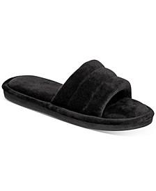 Women's Plush Slide Slippers, Created for Macy's