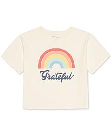 Juniors' Grateful Graphic-Print T-Shirt